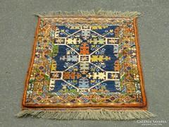 0H959 Régi kézi magyar perzsa szőnyeg 58 x 92cm