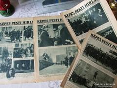 SZÁMOS HORTHY FOTÓ Képes Pesti Hírlap 1932 - 1938