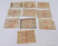 10 db 5 forint. 1848. Kossuth bankó. Vörös