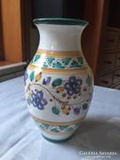 Habán mintás kerámia váza (78)