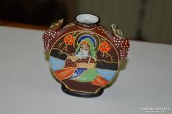 Japán porcelán kicsi váza