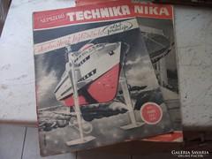Antik újság eladó!Népszerű technika 1959.06,1961.02 hó.