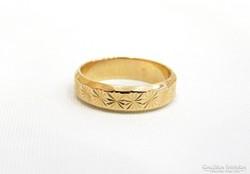 Arany gyűrű (Szh-Au43803)