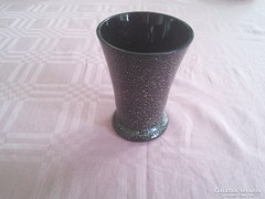 Hialit fekete váza