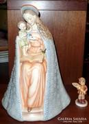 Antik nagyméretű Hummel: Madonna a Gyermekkel 32cm.