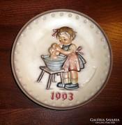 Hummel falitál 1993. 19,5cm