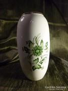 Anna mintás Hollóházi váza kifogástalan állapotban 16 cm