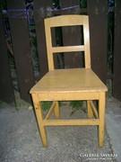 Régi paraszti fenyő szék