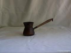 Antik réz kávé kiöntő