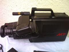 LEÁRAZTAM! Retro PANASONIC M7 videokamera és lejátszó VHS MOVIE