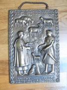Garami László bronz kép