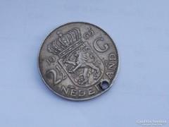 1959 Ezüst 2 1/2 gulden Hollandia