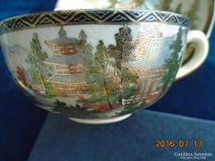 19-dik sz.SHIMAZU-szignós-SATSUMA- teás csésze+alja-2