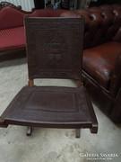 Gyönyörű Mexicoi körasztal 4 db összecsukható székkel eladó