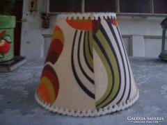 Iparművész retro lámpabúrája. Sosem használt!