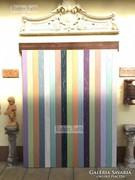 Provence bútor, antikolt dekorációs fal, előszobafal.