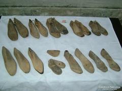 19 darab antik sámfa, kaptafa - együtt eladó