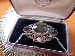 26 gr Gyűjteményi ezüst medál lánccal - Csodaszép