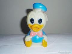 Retro játék Donald kacsa - gumi, sípolós
