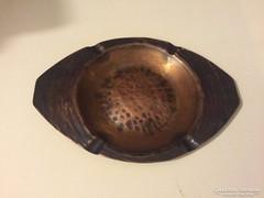 Kézzel készített vörösréz hamutartó 3db