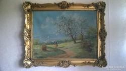 Réthy Károly festmény.