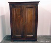 0C781 Antik biedermeier kétajtós szekrény 1860