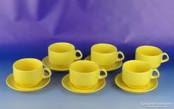 0H496 Hat személyes porcelán teás készlet