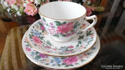Crown Staffordshire Thousend Flowers kávés/teás szett