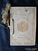 TÁNCREND CÍMER -S SZEPES LÁTKÉP -EK 1882 BUDAPEST