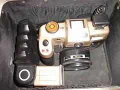 Antik SONY fényképező vakuval táskában eladó!