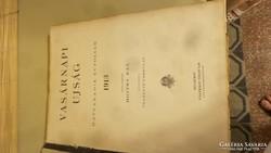 Vasárnapi újság, 1913-as évi kiadásai, 60. évf. gyűjteménye