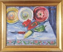 Mannheim Róza (1878-1965): Asztali csendélet,