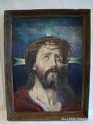 Régi Jézus festmény
