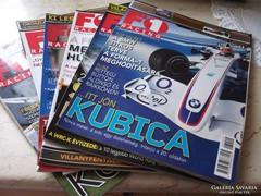F1 Racing magazinokat árulok 2007.02.03.04.05.06.07-hó