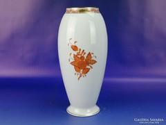 0H770 Apponyi mintás virágos herendi porcelán váza