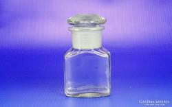 0H664 Antik gyógyszeres üveg patikaüveg