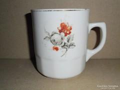 Bögre - Virág mintás - Hollóházi Porcelán