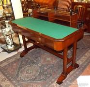 Biedermeier felépítményes íróasztal