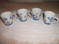 Antik porcelán kávéskészlet 4 db eladó!