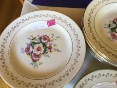 Francia antik tányérok 6+6+6