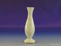 0H907 Régi porcelán szálváza 15.5 cm