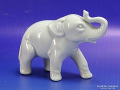 0H833 WAGNER und APEL porcelán elefánt