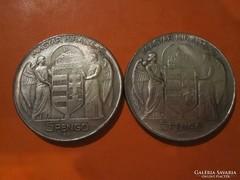 5 pengő 1939 Horthy Miklós - hamis