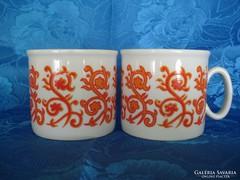 Zsolnay porcelán csészék (2 db)