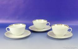 0H983 Bavaria porcelán kávés készlet 3 személyes
