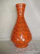 Narancs színű Gorka kerámia  váza
