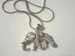 SWAROVSKI kristályos elefántos nyaklánc