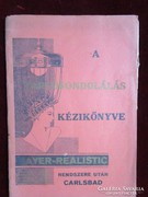 FODRÁSZ SZAKKÖNYV TARTOS HULLÁM ONDOLÁS 1930