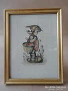 Hummel Little Girl with a Basket, 130/500, Copyright ars'93