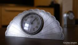 Szecessziós nagyon RITKA ezüst, jelzett angol óra 3 db